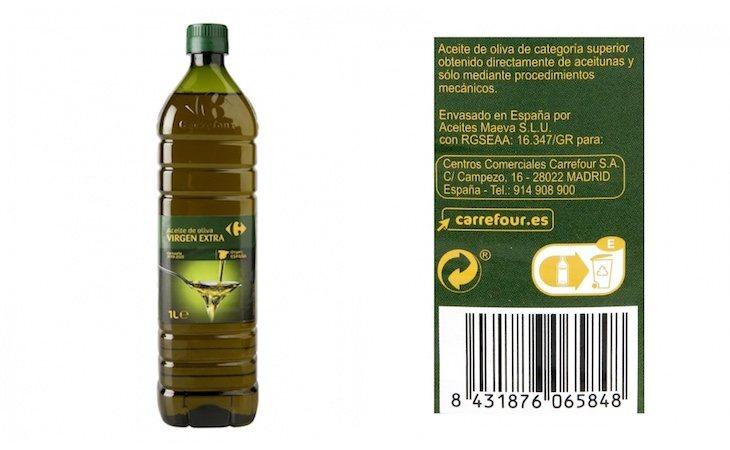 El aceite de marca blanca de Carrefour, uno de los mejores