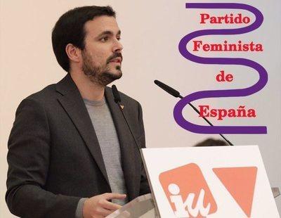Izquierda Unida expulsa al Partido Feminista por su transfobia