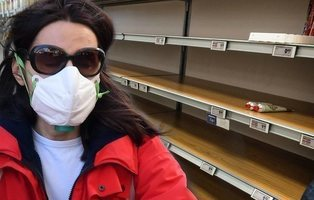 Psicosis en Italia por el coronavirus: supermercados vacíos y desinfectante a precio de oro