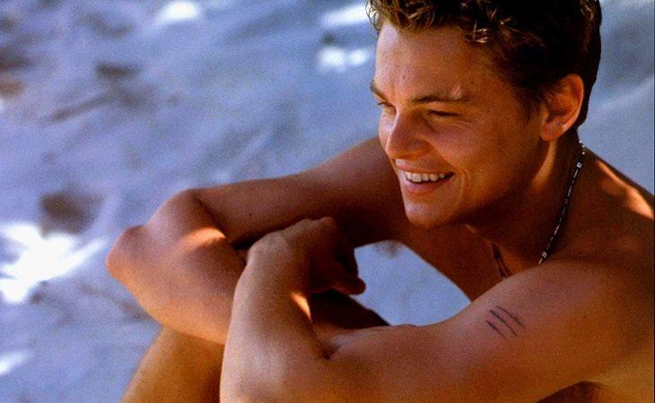 Leonardo DiCaprio en 'La playa'