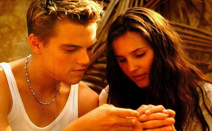 Leonardo DiCaprio & Virginie Ledoyen