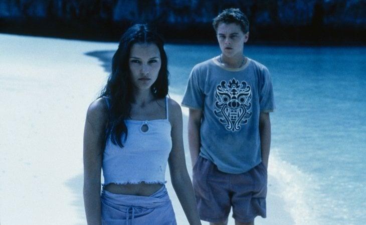 Virginie Ledoyen & Leonardo DiCaprio en el paraíso