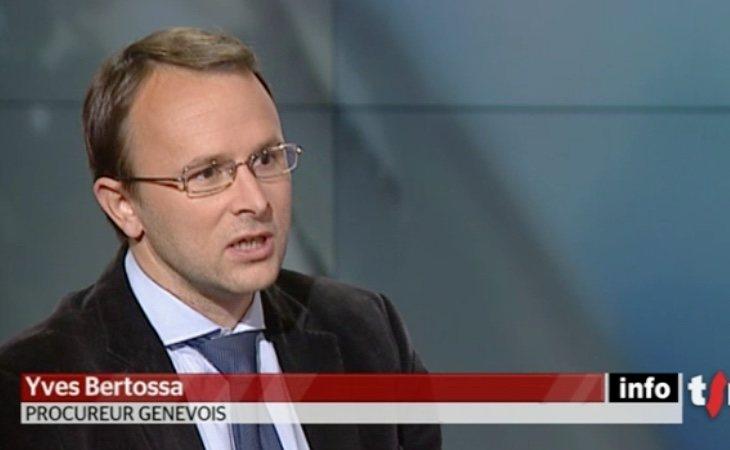 Yves Bertossa, fiscal de Suiza