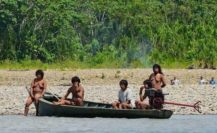 La tribu de Mashco-Piro