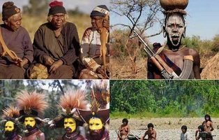 Las 10 tribus más peligrosas y aisladas de la Tierra