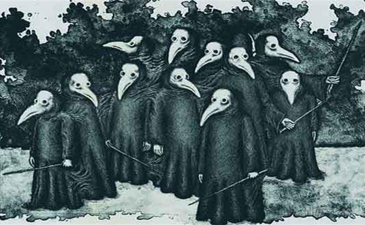 La peste negra dejó 75 millones de muertes