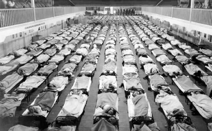 La gripe española dejó entre 50 y 100 millones de muertes