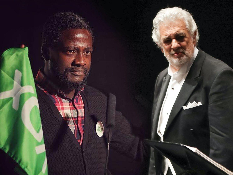 'El negro de VOX' sigue defendiendo a Plácido Domingo pese a haber admitido el acoso sexual
