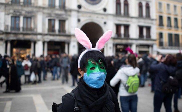 El Carnaval de Venecia nunca había sido suspendido por una enfermedad