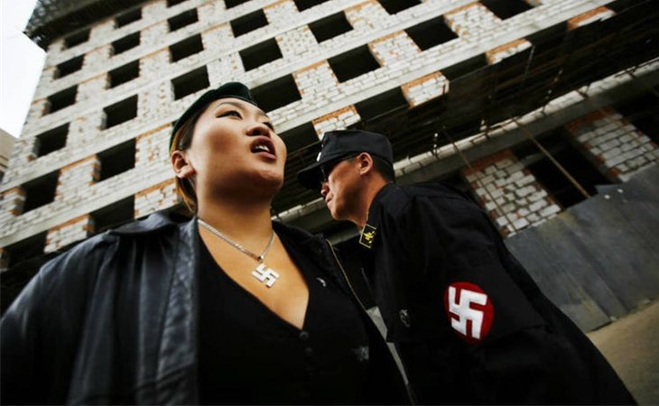 Ariunbold y Uranjargal son los líderes del grupo neonazi Tsagaan Khass Fuente: Reuters
