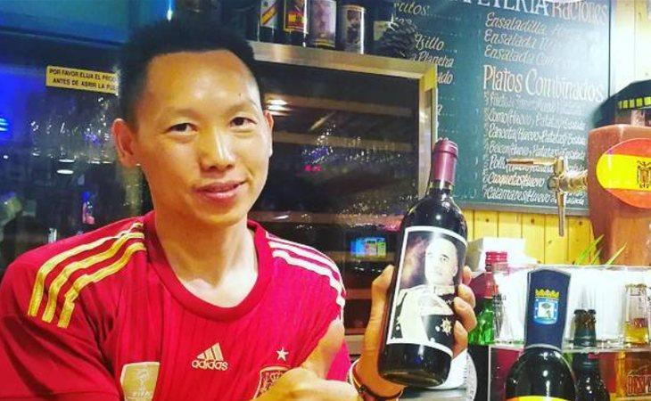 Chen Xianwei, el chino más facha de España