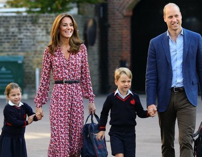El colegio de los hijos del príncipe Guillermo, en alerta por coronavirus