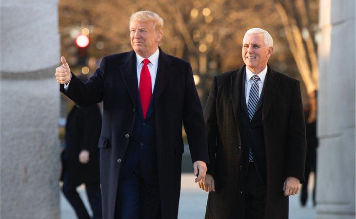 El presidente Trump ha asegurado que Estados Unidos está