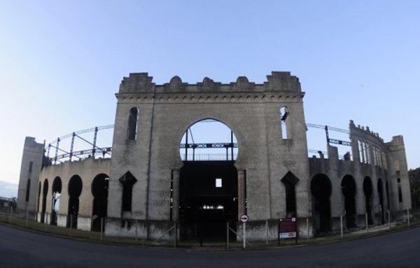 La emblemática plaza de toros Real de San Carlos de Uruguay se encuentra actualmente en estado de ruina