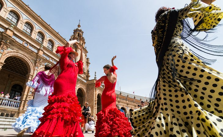 Sevillanas, feria y olé