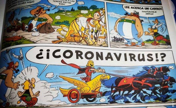 Coronavirus, un villano enmascarado