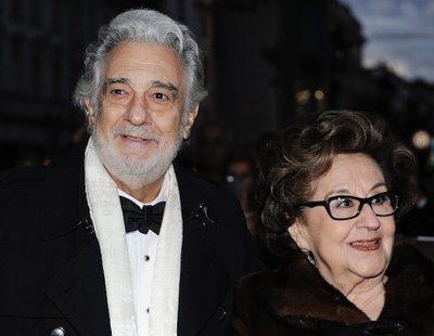 Plácido Domingo y su mujer, Marta Ornelas, en pisos separados desde hace años