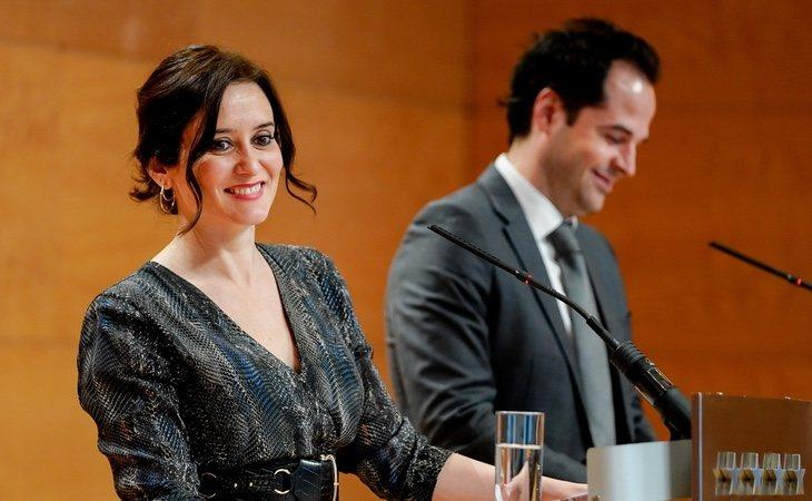 La relación entre Ayuso e Ignacio Aguado es manifiestamente mejorable | Comunidad de Madrid