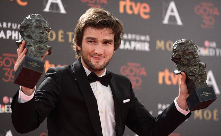 Lucas Vidal recibió dos premios Goya en 2016 por la creación de las bandas sonoras de 'Nadie quiere la noche' y 'Palmeras en la nieve'