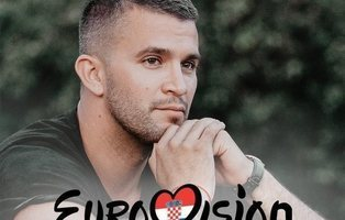 Damir Kedzo, representante de Croacia en Eurovisión 2020 con la powerballad 'Divlji vjetre'