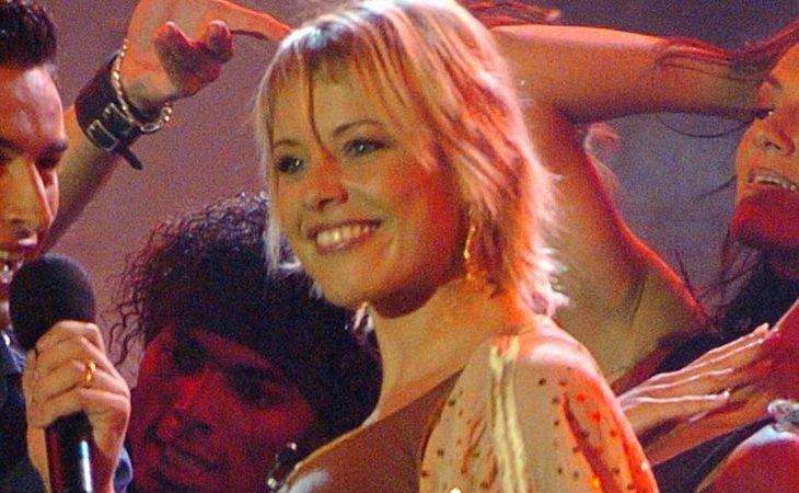 Soraya Arnelas durante su paso por 'OT 2005'