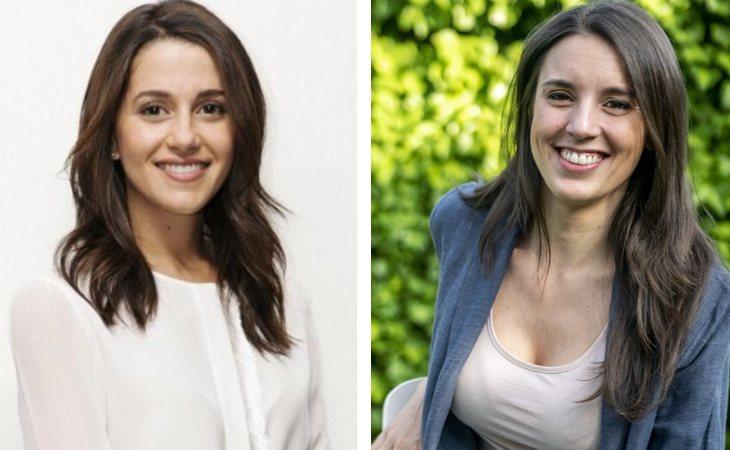 Inés Arrimadas e Irene Montero, las políticas más follables
