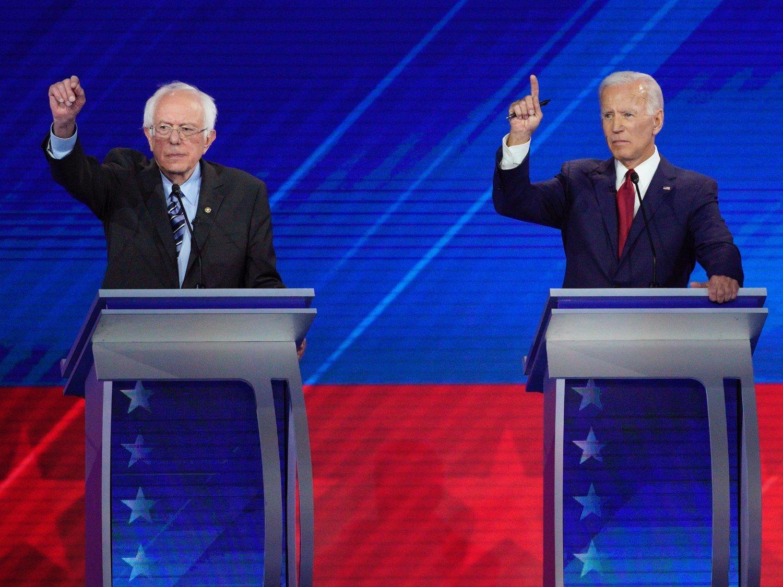 Las díficiles primarias demócratas: cómo superar a Trump cuando gana todas las encuestas