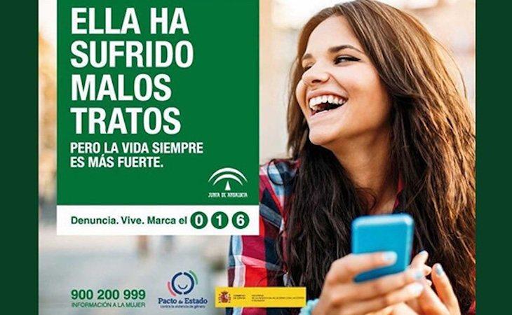 Campaña de la Junta de Andalucía