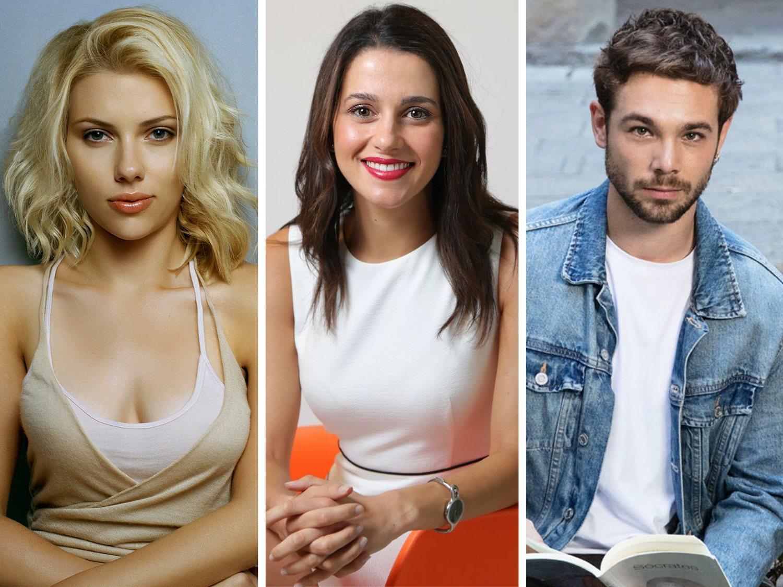 Scarlett Johansson, Inés Arrimadas y Carlos Cuevas, los mitos eróticos de los españoles
