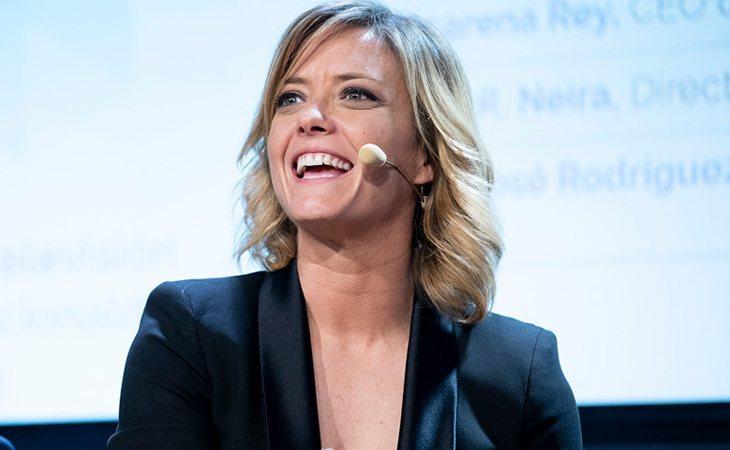 María Casado dirigió el coloquio organizado por la Academia de las Ciencias y las Artes de Televisión y del Audiovisual sobre Liderazgo Femenino