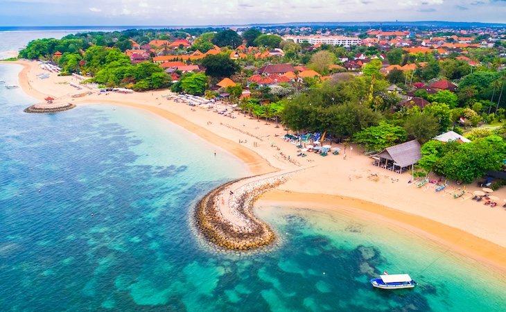 Sanur tiene el encanto de Bali sin su masificacón turística