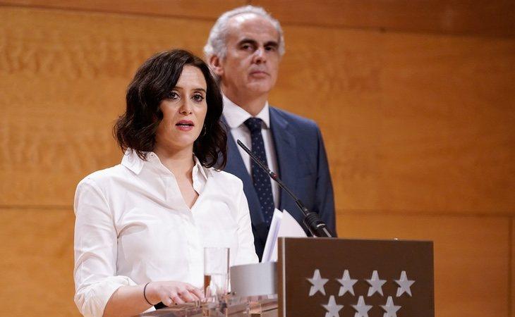 Ayuso ha recibido críticas por ejecutar un recorte de 145 millones de euros