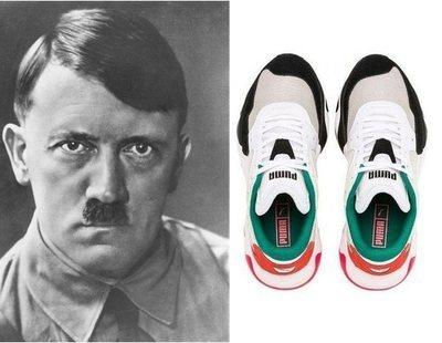 Lanzan unas deportivas con la cara de Hitler y las redes estallan