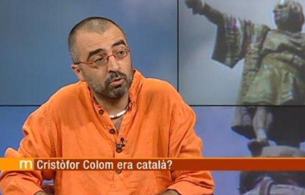 Jordi Bilbeny, director del Institut Nova Historia, en TV3