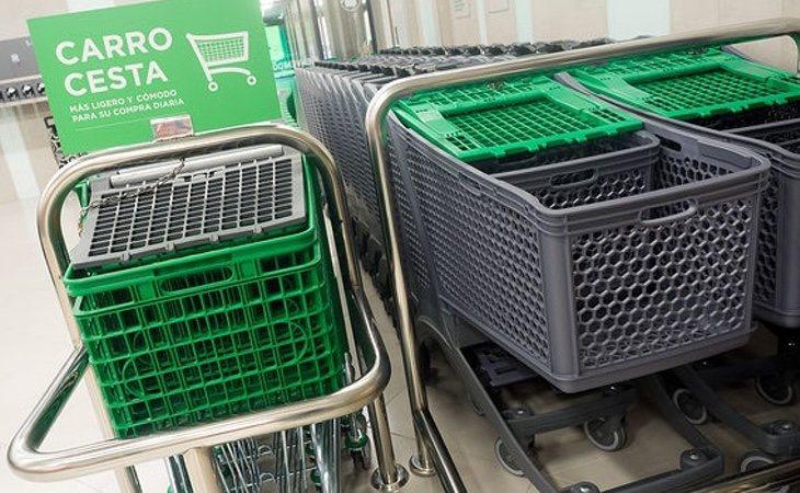 Los carros y cestas de la compra modifican su tamaño para aumentar también las ventas