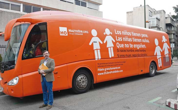 Autobús de HazteOir