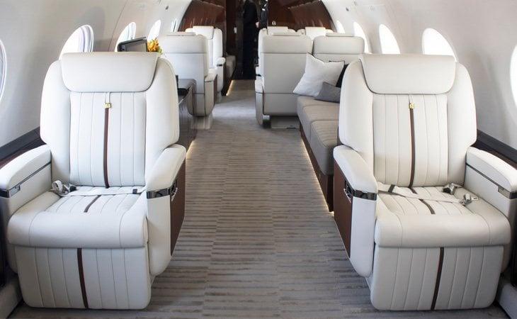 Los vuelos en jet privado se han disparado desde la crisis del coronavirus