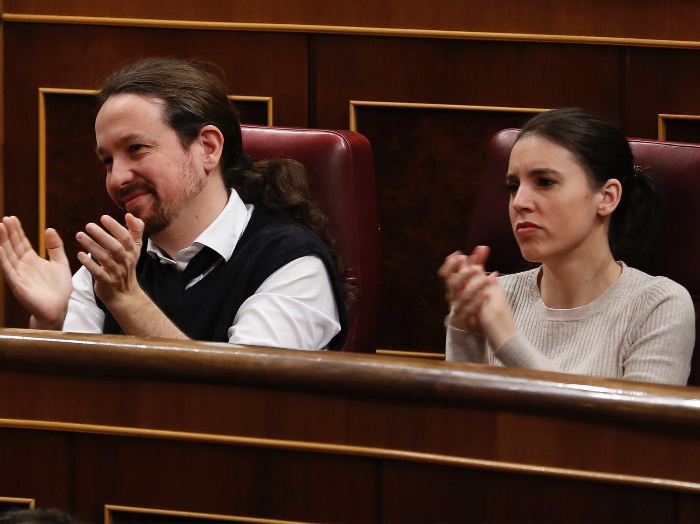 Irene Montero, ministra de Igualdad, da positivo en coronavirus y Pablo Iglesias, negativo