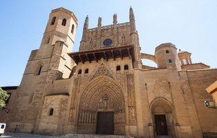 La Catedral de Huesca intentará frenar al coronavirus con el Santo Cristo de los Milagros