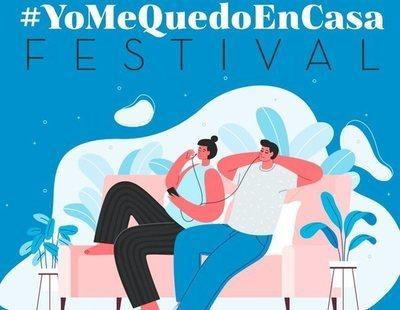 #YoMeQuedoEnCasa Festival: conciertos de artistas en redes sociales por el coronavirus