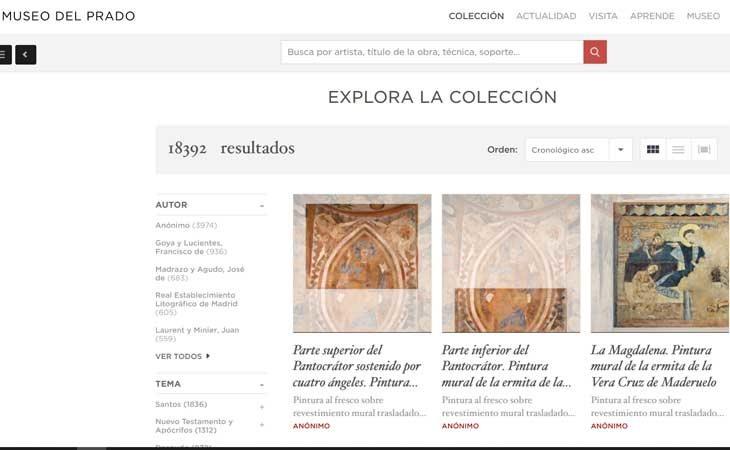 Museo virtual de El Prado