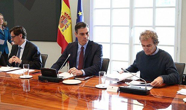 A la espera de la comparecencia donde Pedro Sánchez activará el estado de alarma. Se esperan restricciones a la movilidad de los ciudadanos
