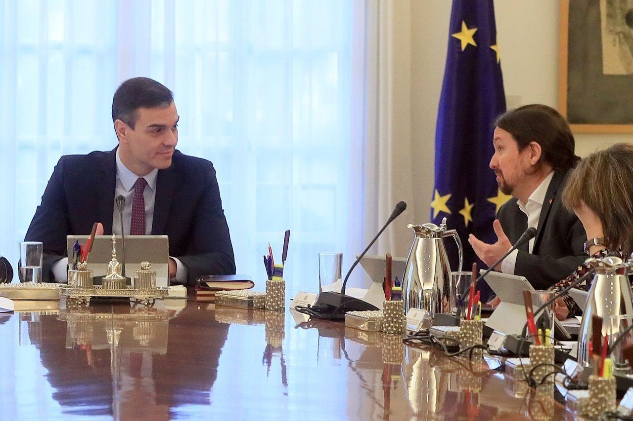 El Consejo de Ministros sobre el estado de alarma continua: PSOE y Unidas Podemos han chocado en el plan de choque económico que se aprobará en los ...