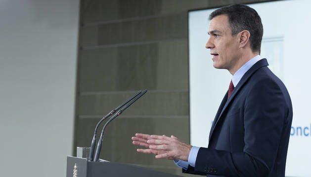 Pedro Sánchez comparecerá en breve para comunicar el estado de emergencia por el coronavirus