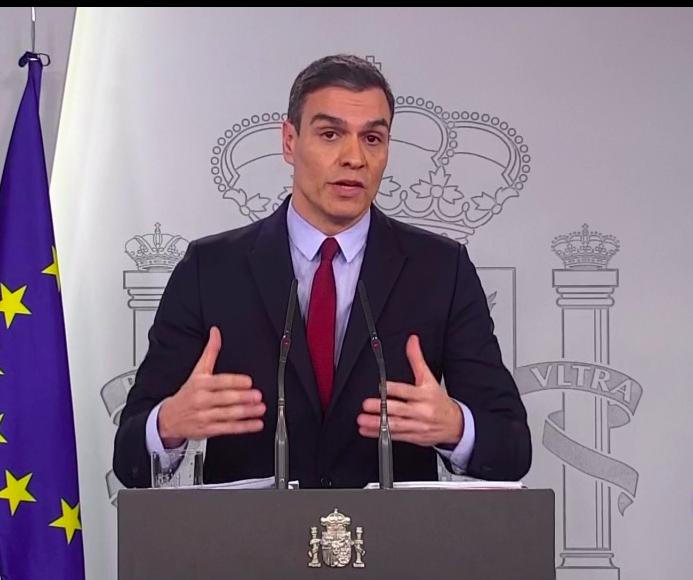 'Vamos a tomar medidas contundentes durante las próximas semanas', anuncia Sánchez