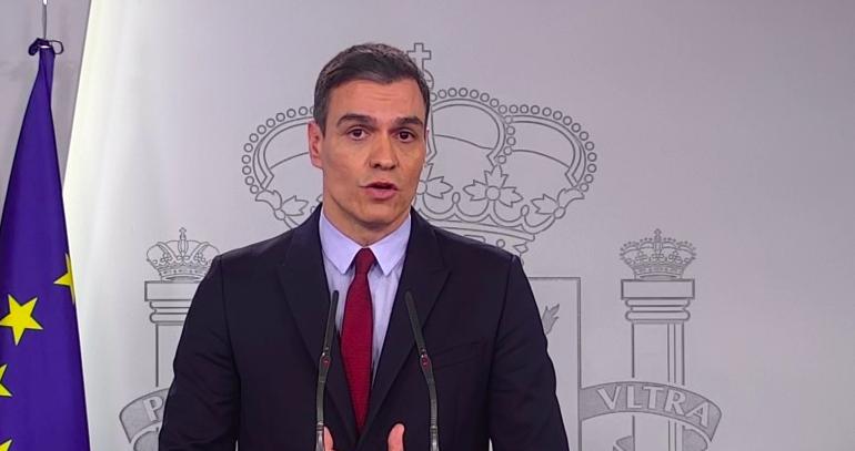 'España va a saber salir de esta'. Sánchez dedica unas palabras de agradecimiento a los profesionales sanitarios que están combatiendo este virus ...