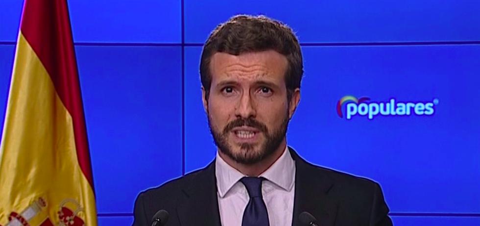 'La oposición actúa con responsabilidad y sentido de Estado, al contrario de lo que sucedió con la crisis del ébola', asegura Casado