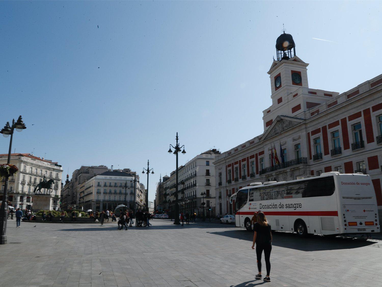 Las calles de Madrid y Barcelona, vacías ante la alarma por coronavirus