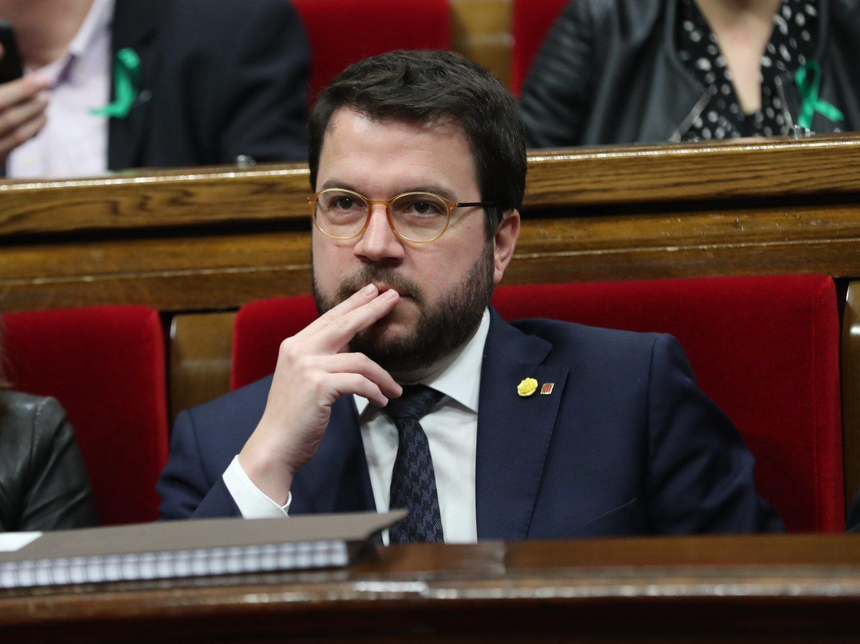 El vicepresidente catalán, Pere Aragonès, da positivo por coronavirus