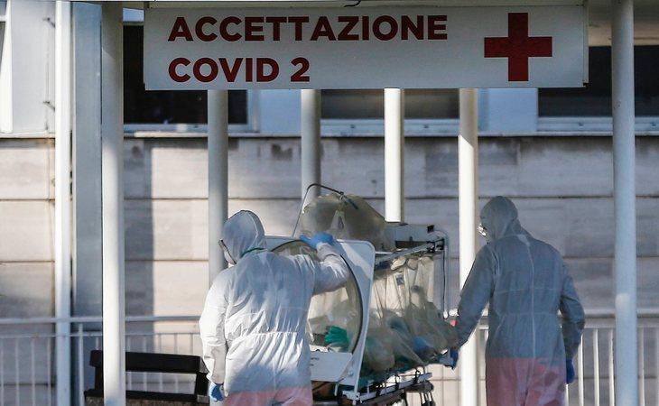 La situación de los hospitals en Italia es crítica